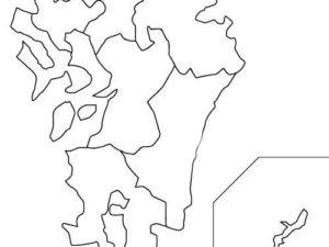 市名から所在都道府県を答える都道府県クイズ(九州・沖縄編)